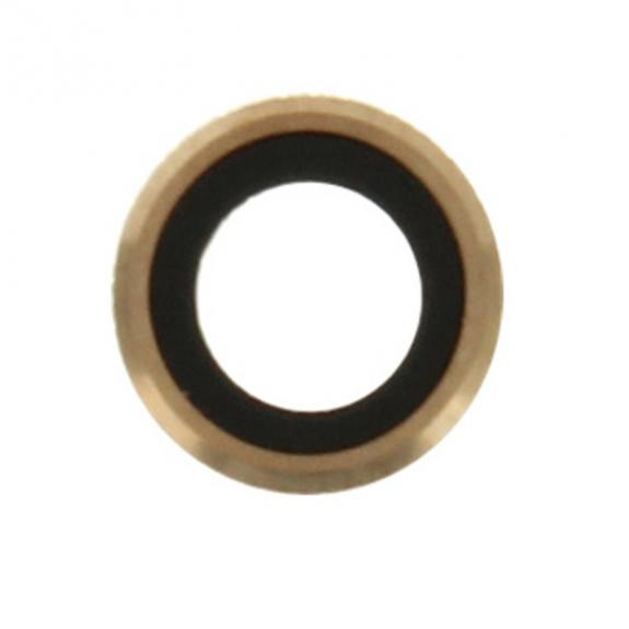 AppleKing dvě čočky s rámečkem k zadní kameře pro iPhone 6S / 6 - zlatá - možnost vrátit zboží ZDARMA do 30ti dní