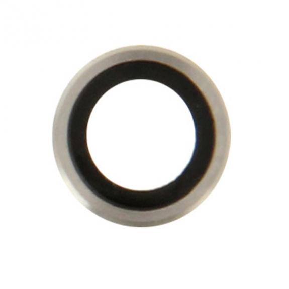 AppleKing dvě čočky s rámečkem k zadní kameře pro iPhone 6S / 6 - stříbrná - možnost vrátit zboží ZDARMA do 30ti dní