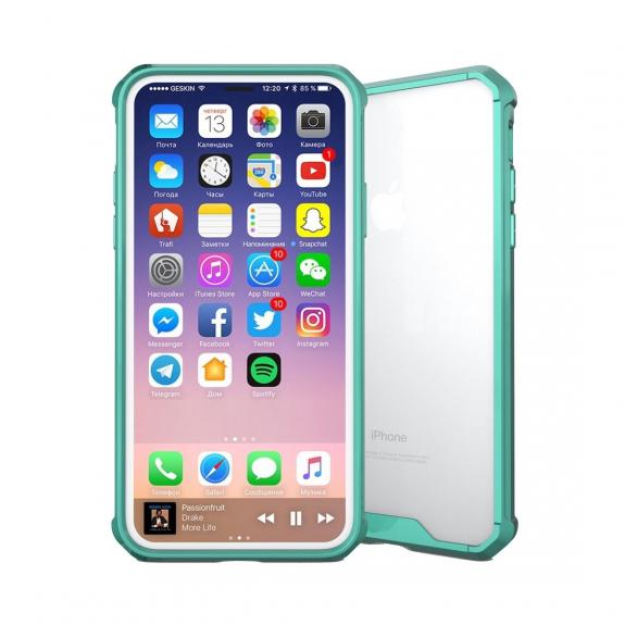 AppleKing ochranný plastový kryt pro iPhone XS / iPhone X - zelená - možnost vrátit zboží ZDARMA do 30ti dní