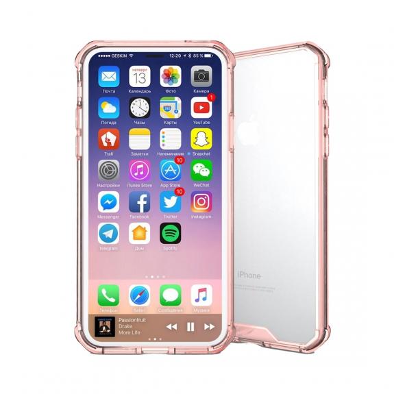 AppleKing ochranný plastový kryt pro iPhone XS / iPhone X - purpurová - možnost vrátit zboží ZDARMA do 30ti dní