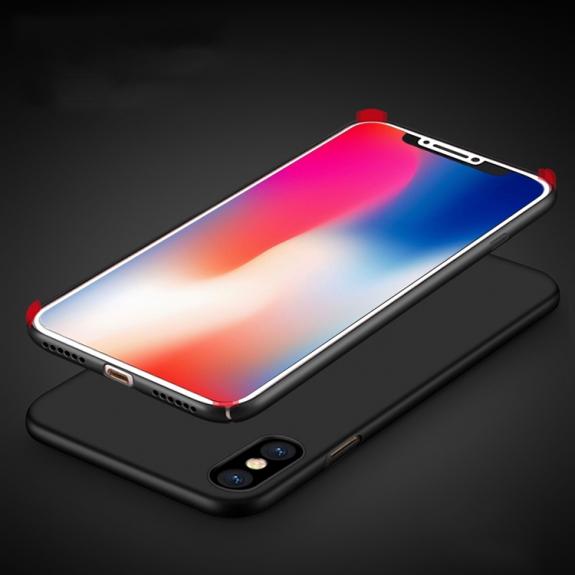MOFI ultratenký ochranný kryt pro iPhone XS / iPhone X - černý - možnost vrátit zboží ZDARMA do 30ti dní