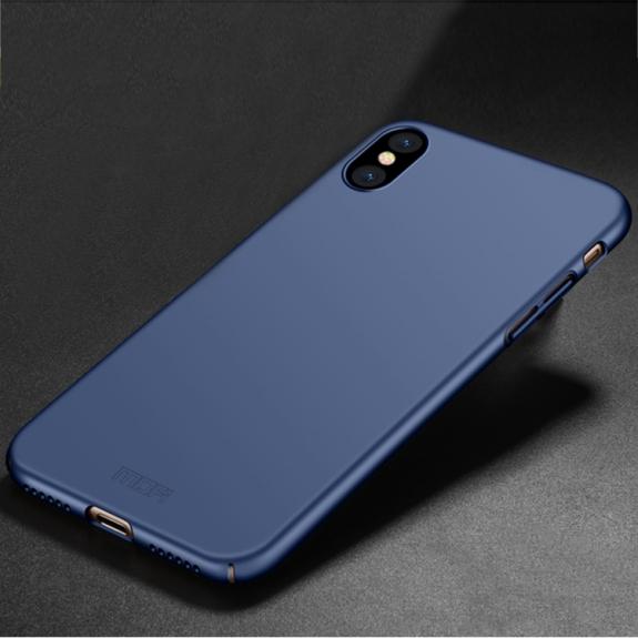 MOFI ultratenký ochranný kryt pro iPhone XS / iPhone X - modrý - možnost vrátit zboží ZDARMA do 30ti dní