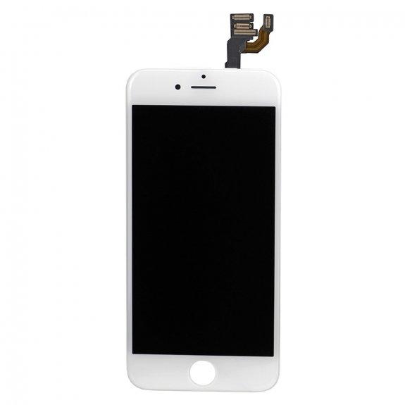 AppleKing premium kompletně osazený LCD displej bez tlačítka Home Button pro Apple iPhone 6 - bílá - možnost vrátit zboží ZDARMA do 30ti dní