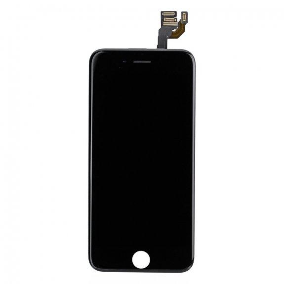 AppleKing premium kompletně osazený LCD displej bez tlačítka Home Button pro Apple iPhone 6 - černá - možnost vrátit zboží ZDARMA do 30ti dní