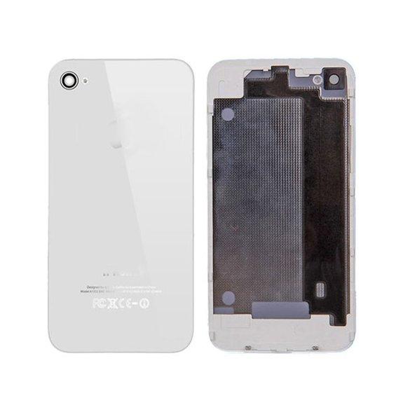AppleKing zadní náhradní sklo / kryt pro Apple iPhone 4 - bílý - možnost vrátit zboží ZDARMA do 30ti dní