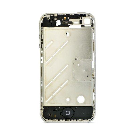 AppleKing kovový rámeček pro uchycení displeje a základní desky pro Apple iPhone 4 - možnost vrátit zboží ZDARMA do 30ti dní