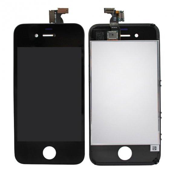 AppleKing premium LCD displej s dotykovým sklem a rámečkem pro Apple iPhone 4 - černý - možnost vrátit zboží ZDARMA do 30ti dní