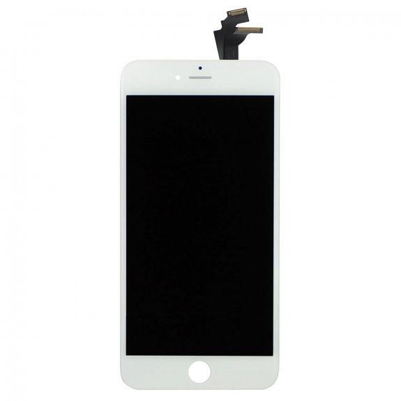 AppleKing premium LCD displej s dotykovým sklem a rámečkem pro Apple iPhone 6 Plus - bílý - možnost vrátit zboží ZDARMA do 30ti dní