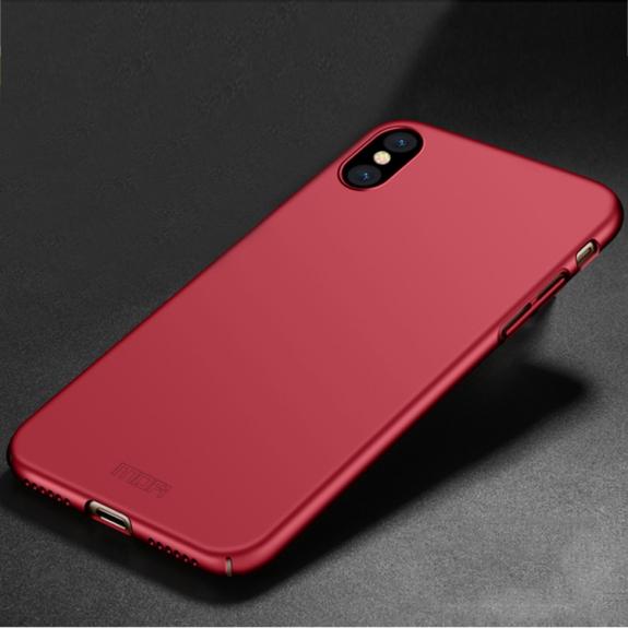 MOFI ultratenký ochranný kryt pro iPhone XS / iPhone X - červený - možnost vrátit zboží ZDARMA do 30ti dní