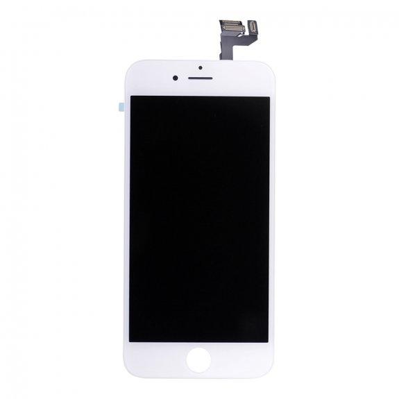 AppleKing premium kompletně osazený LCD displej bez tlačítka Home Button pro Apple iPhone 6S - bílá - možnost vrátit zboží ZDARMA do 30ti dní