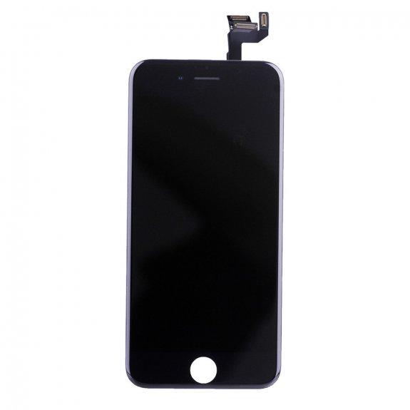 AppleKing premium kompletně osazený LCD displej bez tlačítka Home Button pro Apple iPhone 6S - černá - možnost vrátit zboží ZDARMA do 30ti dní