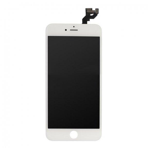 AppleKing premium kompletně osazený LCD displej bez tlačítka Home Button pro Apple iPhone 6S Plus - bílá - možnost vrátit zboží ZDARMA do 30ti dní
