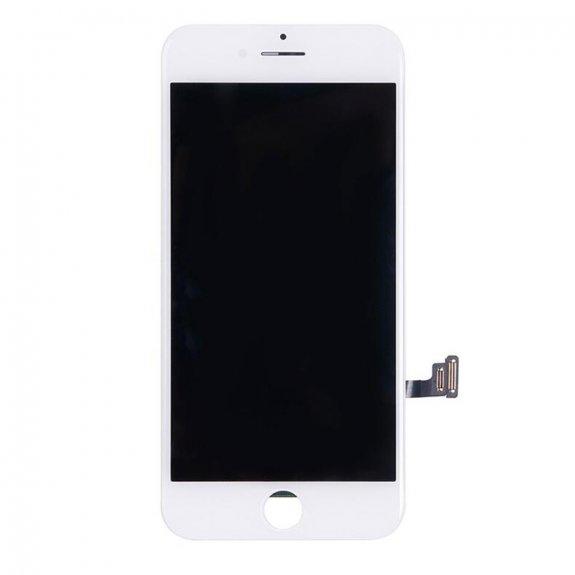 AppleKing refurbished Original náhradní LCD displej s dotykovým sklem a rámečkem pro Apple iPhone 7 - bílý - možnost vrátit zboží ZDARMA do 30ti dní