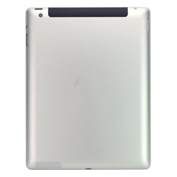 AppleKing zadní náhradní kryt pro Apple iPad 4 3G - stříbrný - možnost vrátit zboží ZDARMA do 30ti dní