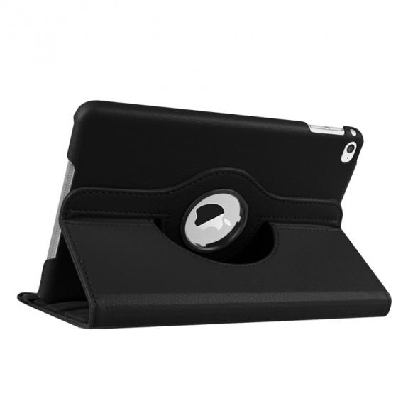 AppleKing pouzdro / kryt s otočným držákem pro iPad mini 4 - černé - možnost vrátit zboží ZDARMA do 30ti dní