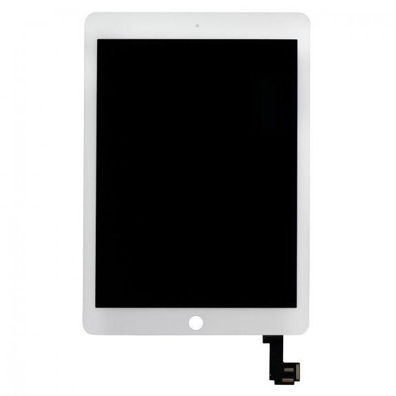 AppleKing refurbished Original náhradní LCD panel + přední dotykové sklo (touch screen) pro Apple iPad Air 2 - bílý rámeček - možnost vrátit zboží ZDARMA do 30ti dní