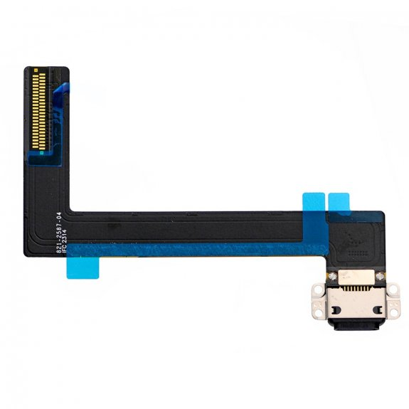 AppleKing flex kabel s Lightning napájecím a datovým konektorem pro Apple iPad Air 2 - černý - možnost vrátit zboží ZDARMA do 30ti dní