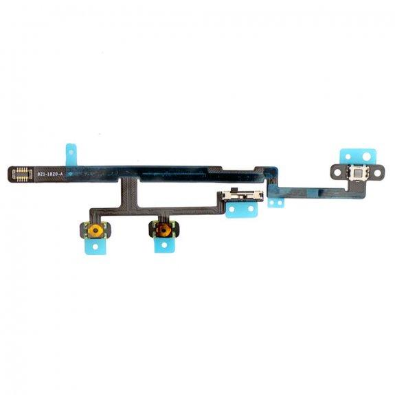 AppleKing flex kabel s přepínačem Mute + ovládání hlasitosti + Power spínač pro Apple iPad Mini 2 - možnost vrátit zboží ZDARMA do 30ti dní