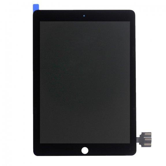 """AppleKing náhradní LCD panel + přední dotykové sklo (touch screen) pro Apple iPad Pro 9,7"""" - černý rámeček - možnost vrátit zboží ZDARMA do 30ti dní"""