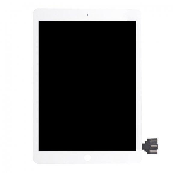 """AppleKing náhradní LCD panel + přední dotykové sklo (touch screen) pro Apple iPad Pro 9,7"""" - bílý rámeček - možnost vrátit zboží ZDARMA do 30ti dní"""