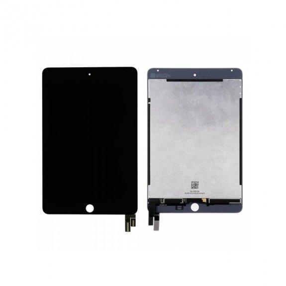 AppleKing refurbished Original LCD panel + přední dotykové sklo (touch screen) pro Apple iPad Mini 4 - černý rámeček - možnost vrátit zboží ZDARMA do 30ti dní