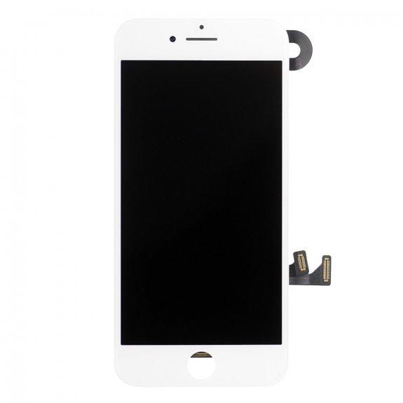 AppleKing premium kompletně osazený LCD displej bez tlačítka Home Button pro Apple iPhone 7 - bílá - možnost vrátit zboží ZDARMA do 30ti dní