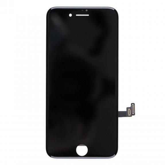 AppleKing premium LCD displej s dotykovým sklem a rámečkem pro Apple iPhone 8 - černý - možnost vrátit zboží ZDARMA do 30ti dní