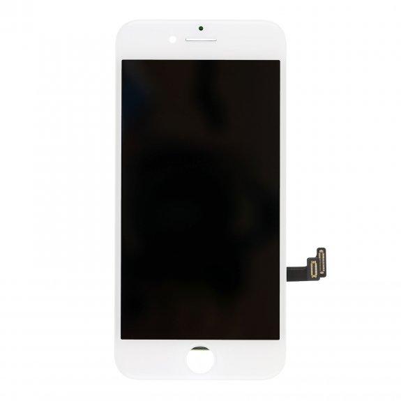 AppleKing premium LCD displej s dotykovým sklem a rámečkem pro Apple iPhone 8 - bilý - možnost vrátit zboží ZDARMA do 30ti dní