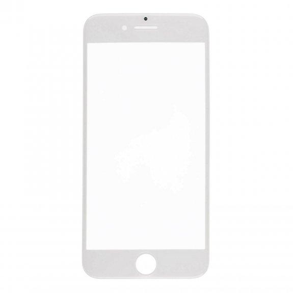 AppleKing přední dotykové sklo, včetně OCA lepidla, POL filmu, rámečků pro přední fotoaparát, proximity sensor a mřížky pro sluchátko, pro iPhone 8 Plus - bílá - možnost vrátit zboží ZDARMA do 30ti dní