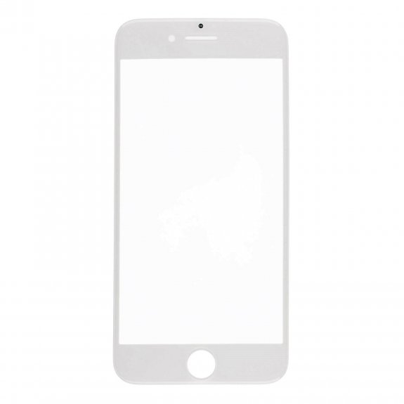 AppleKing přední dotykové sklo, včetně OCA lepidla, POL filmu, rámečků pro přední fotoaparát, proximity sensor a mřížky pro sluchátko, pro iPhone 8 - bílá - možnost vrátit zboží ZDARMA do 30ti dní