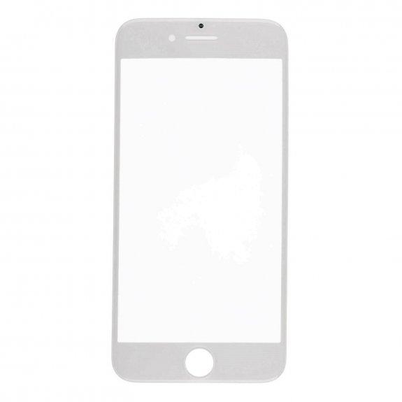 AppleKing přední dotykové sklo, včetně OCA lepidla, POL filmu, rámečků pro přední fotoaparát, proximity sensor a mřížky pro sluchátko, pro iPhone 7 - bílá - možnost vrátit zboží ZDARMA do 30ti dní
