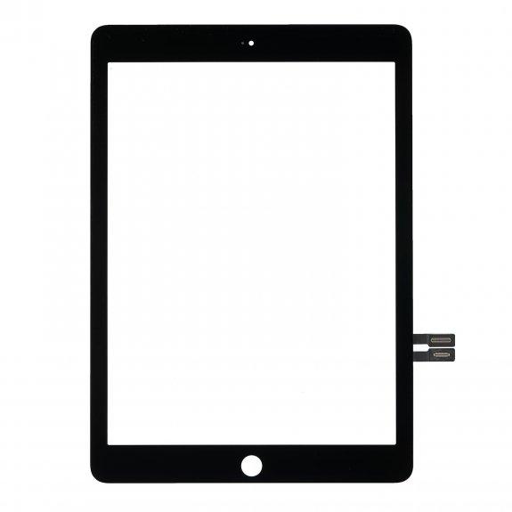 """AppleKing premium přední dotykové sklo (touch screen) pro Apple iPad 9,7"""" 2018 - černé - možnost vrátit zboží ZDARMA do 30ti dní"""