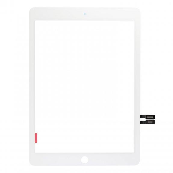 """AppleKing premium přední dotykové sklo (touch screen) pro Apple iPad 9,7"""" 2018 - bílé - možnost vrátit zboží ZDARMA do 30ti dní"""