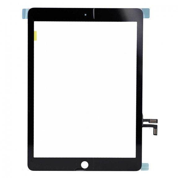 """AppleKing premium přední dotykové sklo (touch screen) pro Apple iPad 9,7"""" 2017 - černé - možnost vrátit zboží ZDARMA do 30ti dní"""