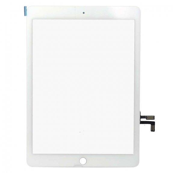 """AppleKing premium přední dotykové sklo (touch screen) pro Apple iPad 9,7"""" 2017 - bílé - možnost vrátit zboží ZDARMA do 30ti dní"""