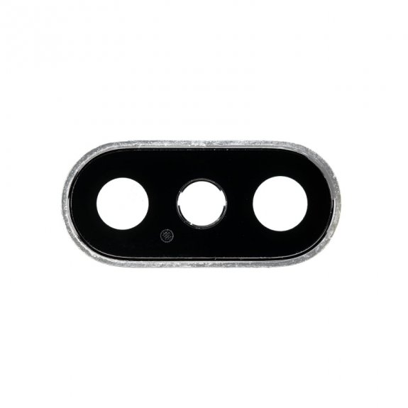 AppleKing náhradní kryt zadní kamery pro Apple iPhone XS - stříbrný - možnost vrátit zboží ZDARMA do 30ti dní