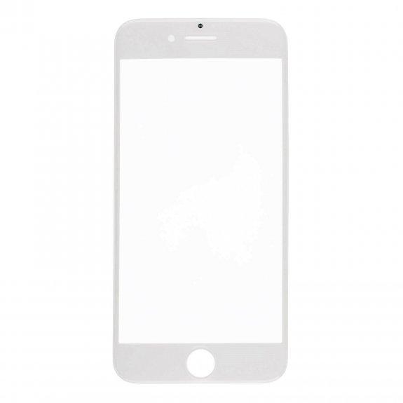AppleKing přední dotykové sklo, včetně OCA lepidla, rámečků pro přední fotoaparát, proximity sensor a mřížky pro sluchátko, pro iPhone 7 - bílá - možnost vrátit zboží ZDARMA do 30ti dní