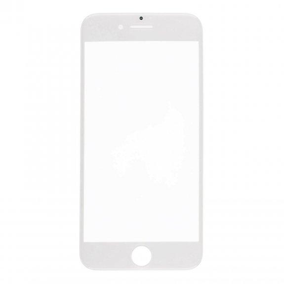 AppleKing přední dotykové sklo, včetně OCA lepidla, rámečků pro přední fotoaparát, proximity sensor a mřížky pro sluchátko, pro iPhone 7 Plus - bílá - možnost vrátit zboží ZDARMA do 30ti dní