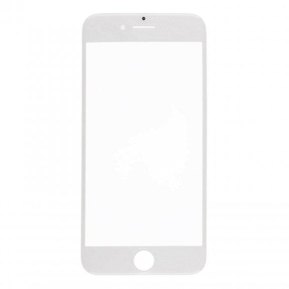 AppleKing přední dotykové sklo, včetně OCA lepidla, rámečků pro přední fotoaparát, proximity sensor a mřížky pro sluchátko, pro iPhone 8 - bílá - možnost vrátit zboží ZDARMA do 30ti dní