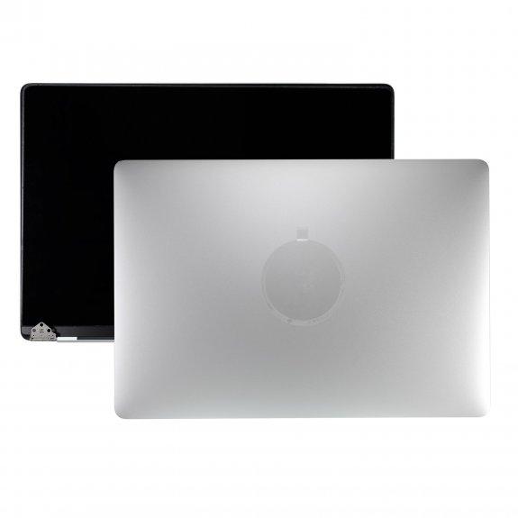 """AppleKing kompletně osazený Retina LCD displej včetně hliníkového víka pro Apple MacBook Pro 15"""" A1707 rok 2016 / 2017 - silver - možnost vrátit zboží ZDARMA do 30ti dní"""