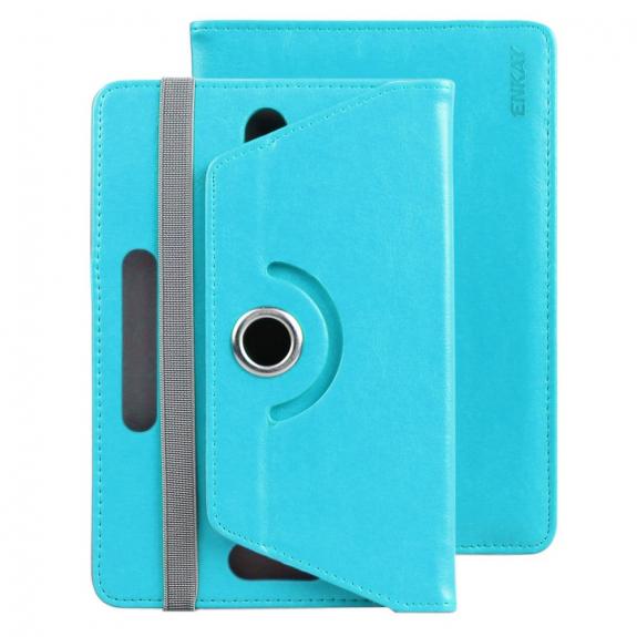 Enkay pouzdro se stojánkem na iPad mini 4 / 5 - tyrkysové - možnost vrátit zboží ZDARMA do 30ti dní