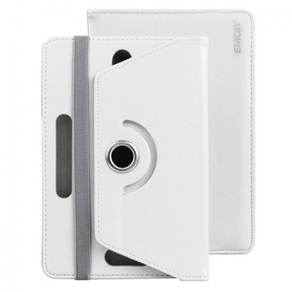Enkay pouzdro se stojánkem na iPad mini 4 / 5 - bílé - možnost vrátit zboží ZDARMA do 30ti dní