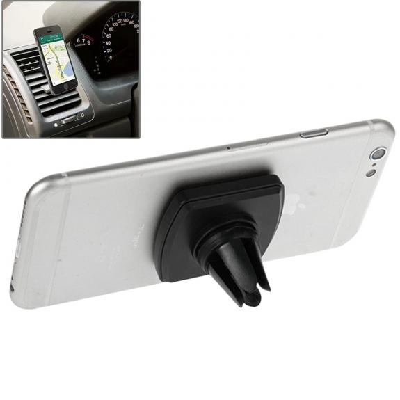 AppleKing univerzální magnetický držák / stojánek na ventilační mřížku automobilu pro iPhone - černý - možnost vrátit zboží ZDARMA do 30ti dní