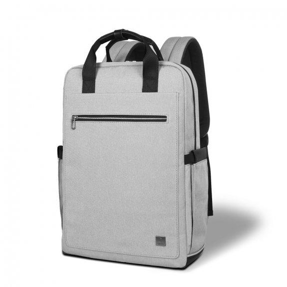 """Wiwu multifunkční prostorný voděodolný batoh vhodný pro MacBook do 15"""" - šedý - možnost vrátit zboží ZDARMA do 30ti dní"""