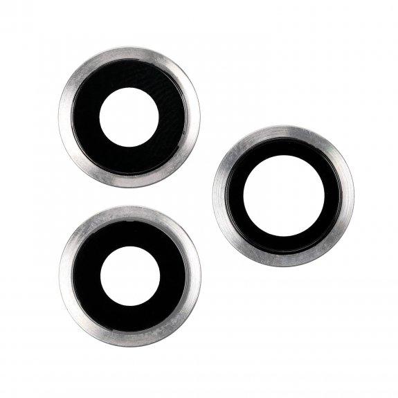 AppleKing náhradní kryt zadní kamery pro Apple iPhone 11 Pro - stříbrná - možnost vrátit zboží ZDARMA do 30ti dní