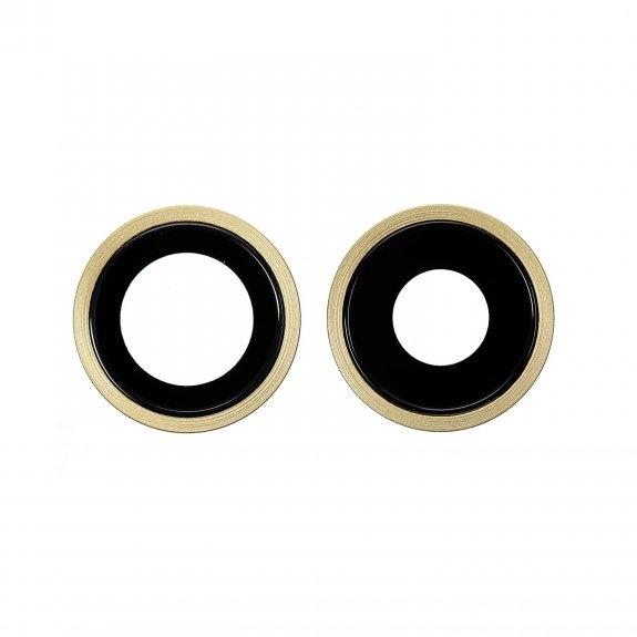 AppleKing náhradní ocelový kruh zadní kamery pro Apple iPhone 11 - žlutá - možnost vrátit zboží ZDARMA do 30ti dní