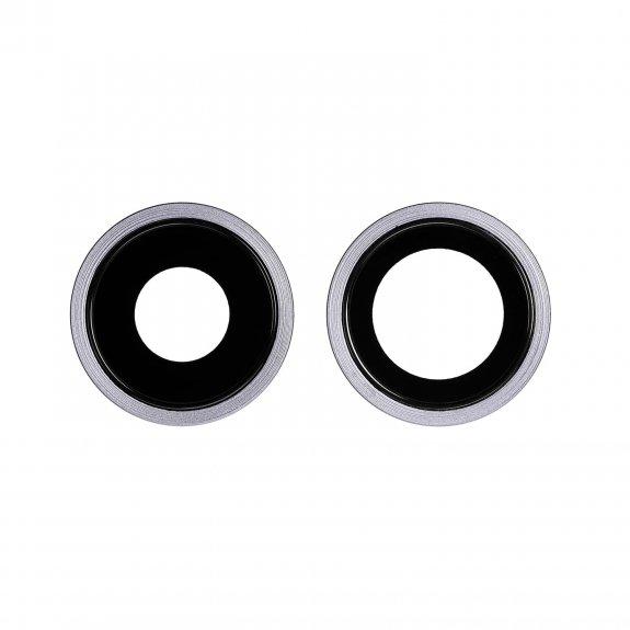 AppleKing náhradní ocelový kruh zadní kamery pro Apple iPhone 11 - fialová - možnost vrátit zboží ZDARMA do 30ti dní