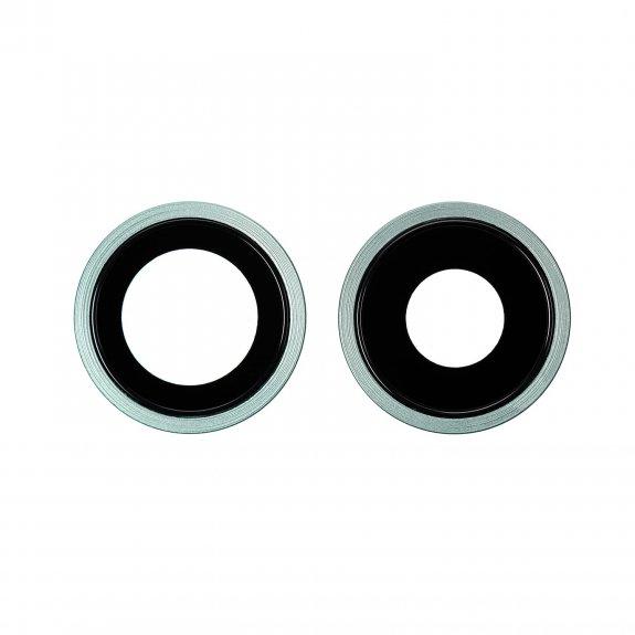 AppleKing náhradní ocelový kruh zadní kamery pro Apple iPhone 11 - zelená - možnost vrátit zboží ZDARMA do 30ti dní