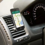 Univerzální magnetický držák / stojánek na ventilační mřížku automobilu pro iPhone - černý