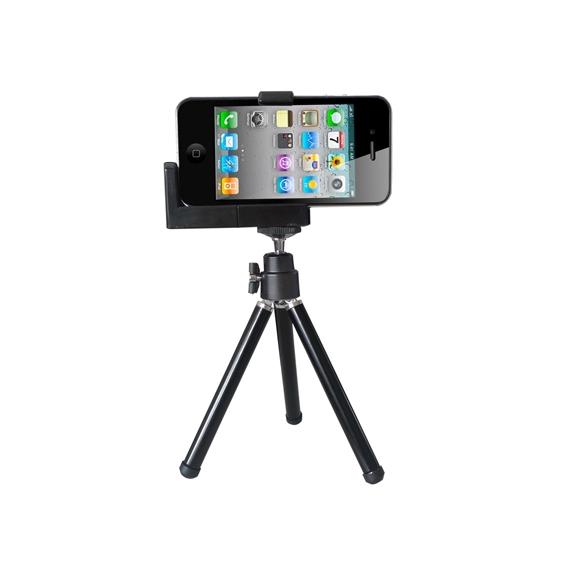 AppleKing stativ / tripod pro iPhone - černý - možnost vrátit zboží ZDARMA do 30ti dní
